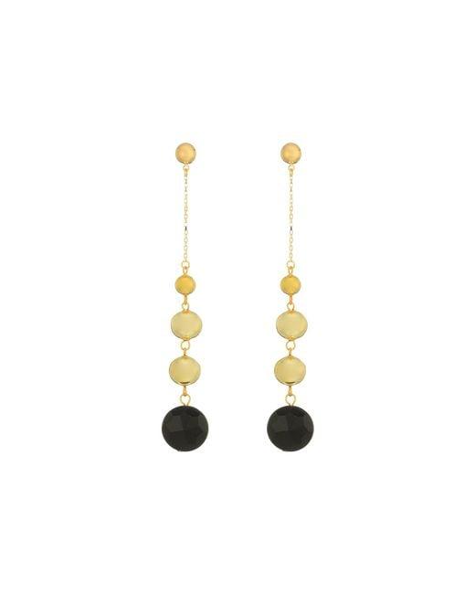 Vanessa Mooney | Black The Louise Earrings | Lyst