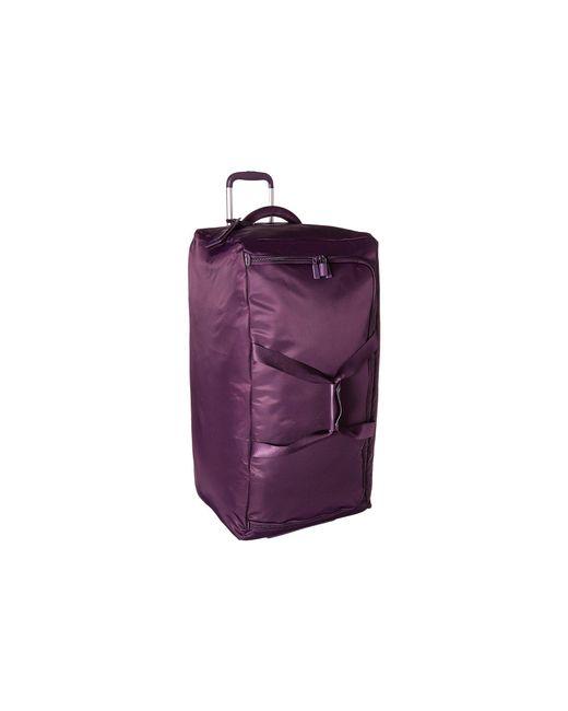 """Lipault - Purple 0% Pliable 30"""" Wheeled Duffel - Lyst"""