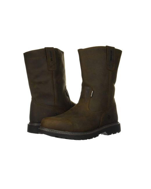 1604d72d008 Men's Brown Floorhand Welly 10 Soft Toe