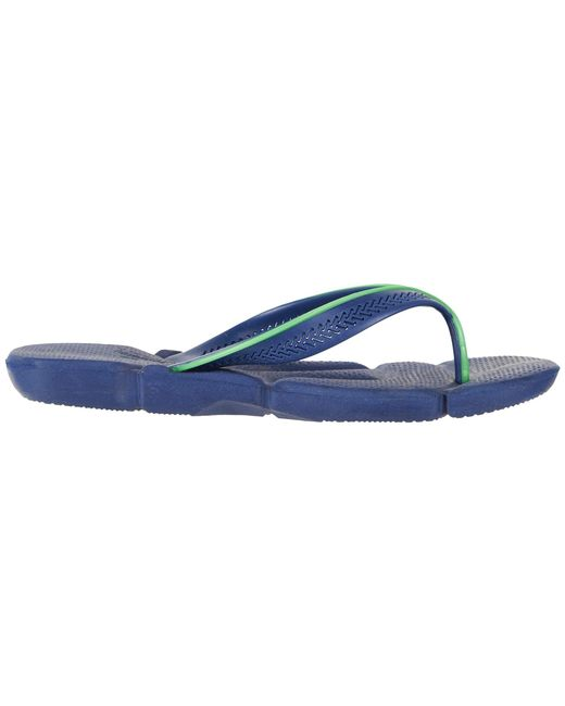 410d40beb ... Havaianas - Power Flip Flops (marine Blue) Men s Sandals for Men ...