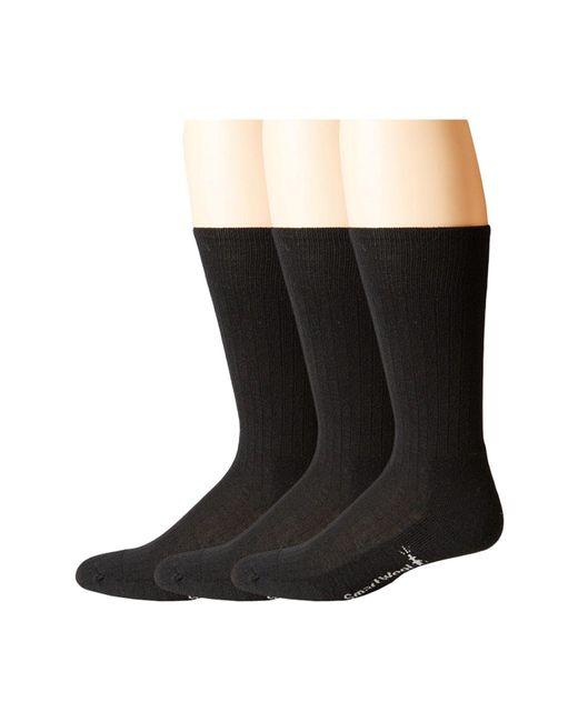 Smartwool Black New Classic Rib 3-pair Pack for men
