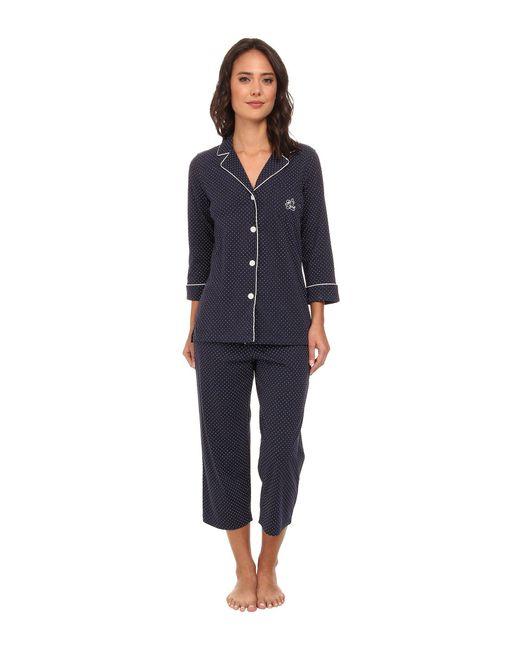 Lauren by Ralph Lauren - Blue Plus Windsor Pajama Set - Lyst