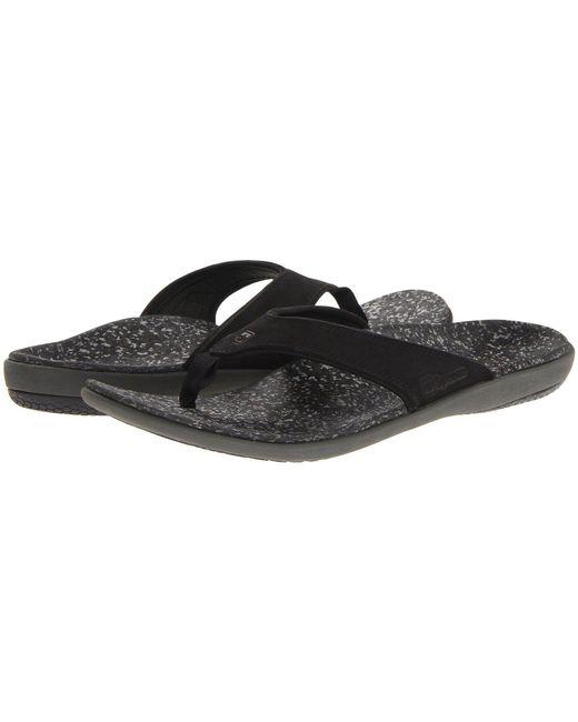 Spenco - Yumi Select Sandal (black) Men's Sandals for Men - Lyst