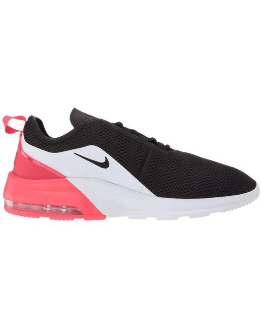 Air Max Motion 2 (blackvoltwhitetotal Orange) Men's Running Shoes