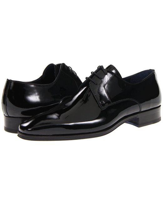 Magnanni Shoes - Dante (black Patent) Men's Lace Up Casual Shoes for Men - Lyst