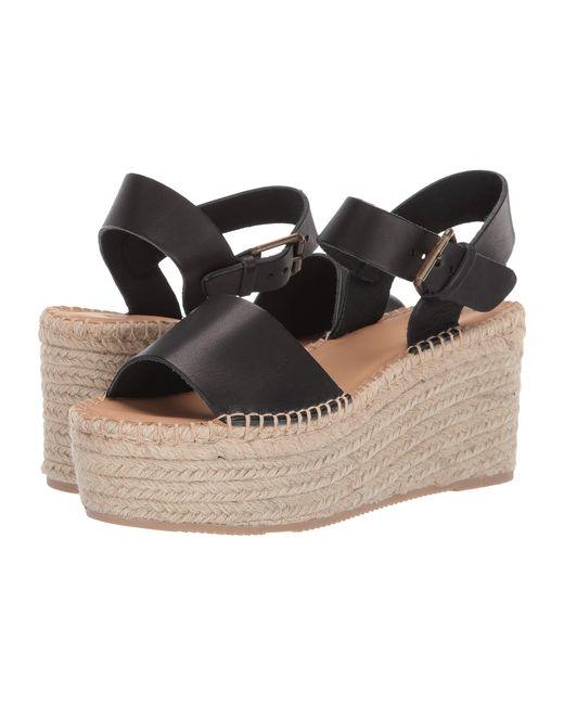 540b8a1a2828 Lyst - Soludos Minorca High Platform Sandals in Black - Save 1%