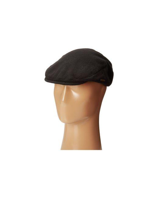 Stetson - Wool Blend Ivy Cap (black) Caps for Men - Lyst