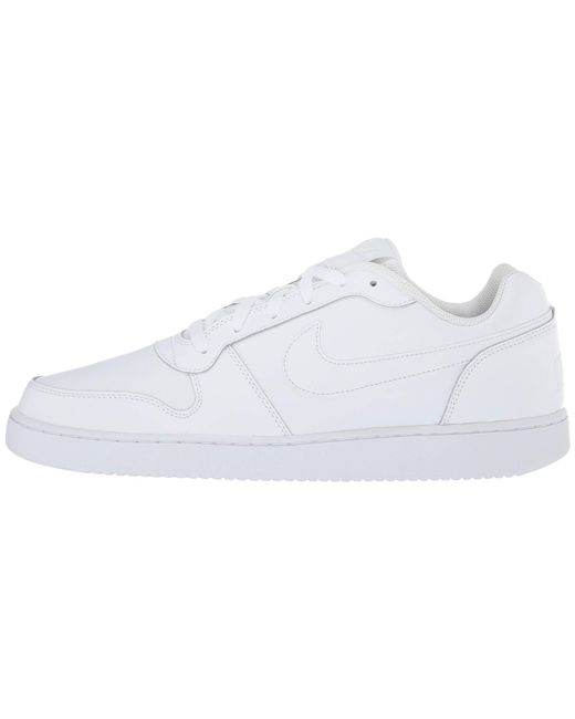 78ae34631e5 Lyst - Nike Ebernon Low (black white) Men s Shoes in White for Men
