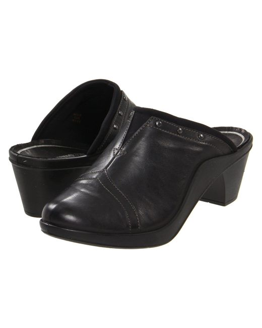 Romika - Black Mokassetta 271 (brandy) Women's Clog Shoes - Lyst