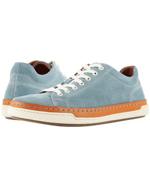 Allen Edmonds - Blue Porter Derby (opal Suede) Men's Lace Up Casual Shoes for Men - Lyst