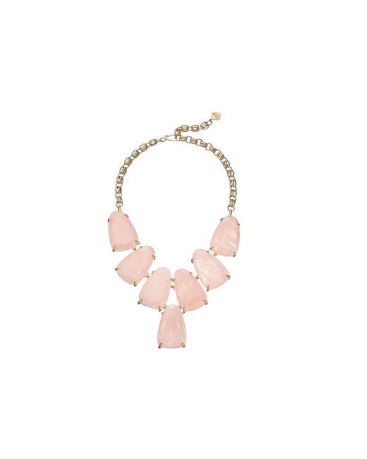 Kendra Scott - Pink Harlow Necklace - Lyst