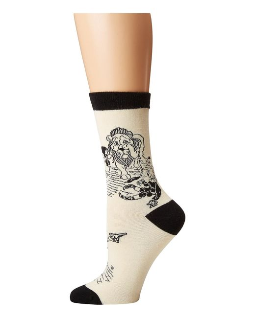 Socksmith - White Off To See The Wizard - Lyst