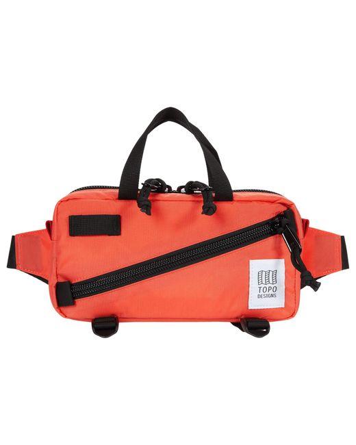 Topo Red Mini Quick Pack Cross Body Handbags