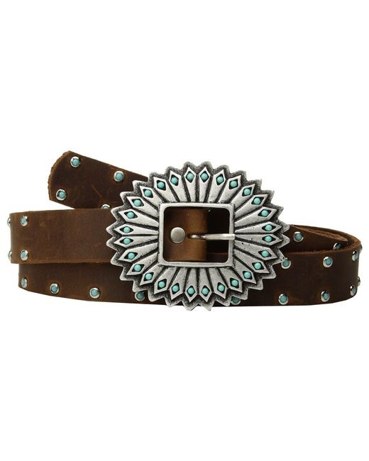 Leatherock - Multicolor Sierra Belt (bark) Women's Belts - Lyst