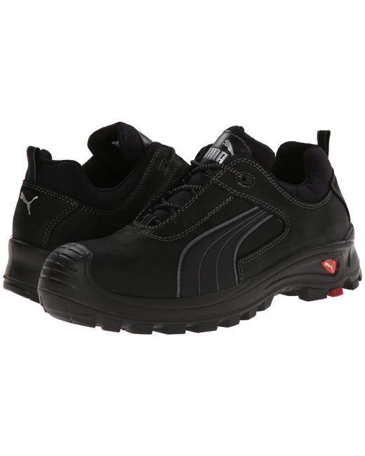 e479baf91d9 PUMA - Cascades Low Eh (black) Men s Work Boots for Men ...