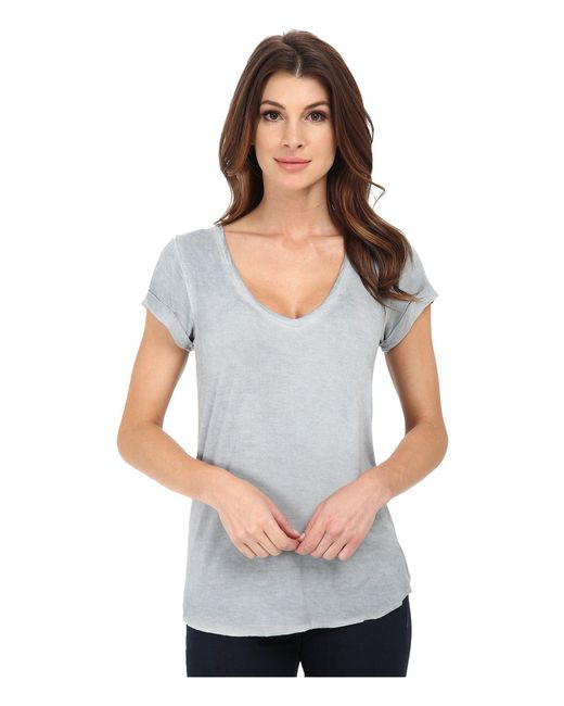 PAIGE   Gray Charlie Tee   Lyst