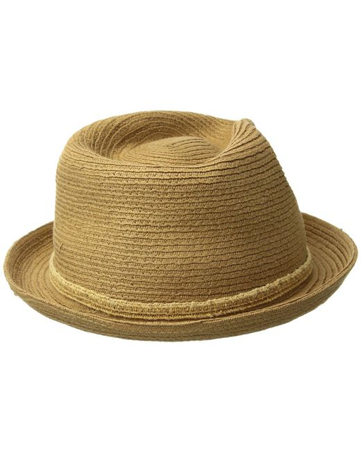 Bailey of Hollywood Mens Shelley Fedora Bucket Hat Fedora