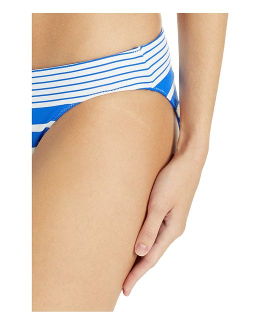 0a38bc648c ... Tommy Bahama - Beach Glass Stripe Reversible Hipster (beach Glass Blue) Women's  Swimwear ...