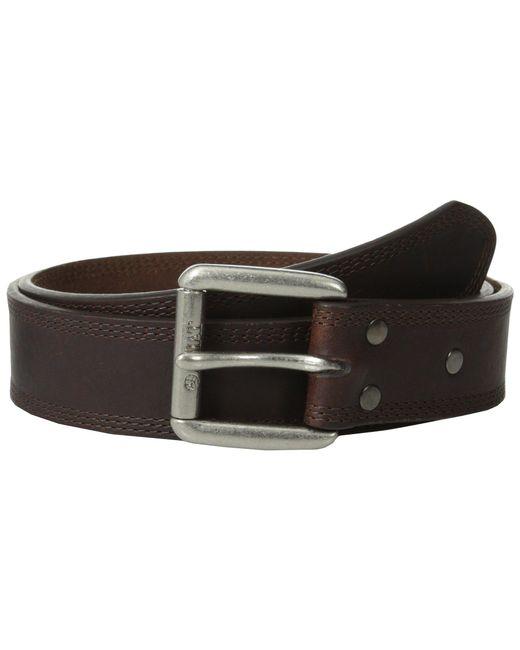 Ariat - Metallic Work Belt (earth Triple Stitch) Men's Belts for Men - Lyst