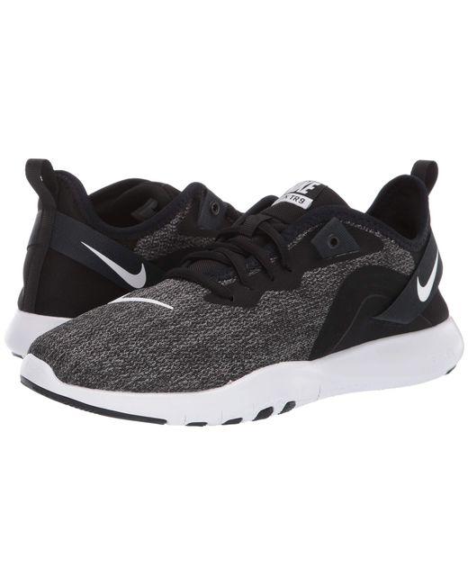 5940b911a0dc0 Nike - Flex Tr 9 (black white anthracite) Women s Cross Training Shoes ...