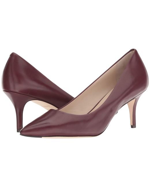 dabadcc45c3 Lyst - Cole Haan Vesta Pump (65mm) (nude Leather) Women s Shoes in Brown