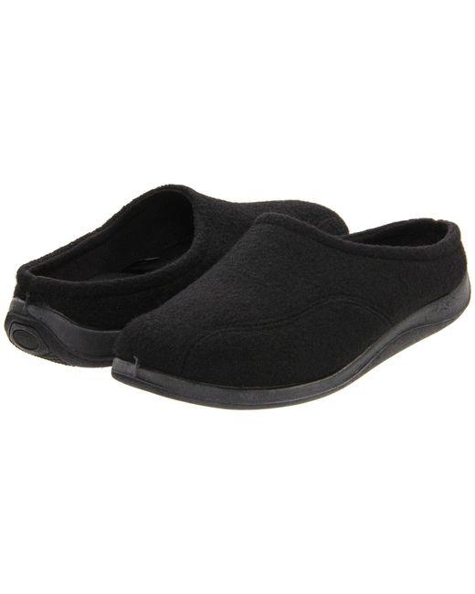Foamtreads - Tomas (black Wool) Men's Slippers for Men - Lyst