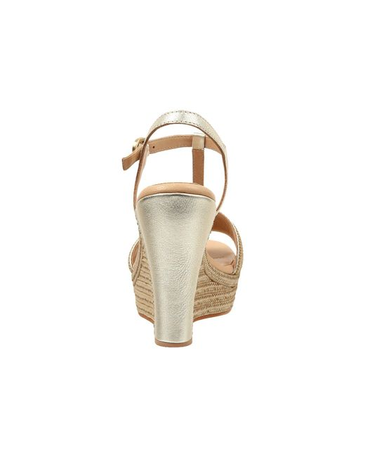 7c183791e73 ... Lyst Ugg - Multicolor Fitchie Metallic (soft Gold Leather) Women s Wedge  Shoes ...