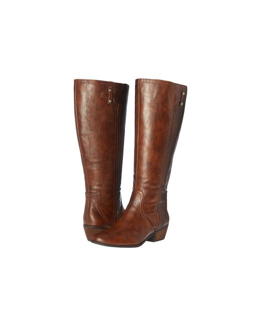 Dr. Scholls - Multicolor Brilliance Wide Calf (whiskey) Women's Boots - Lyst