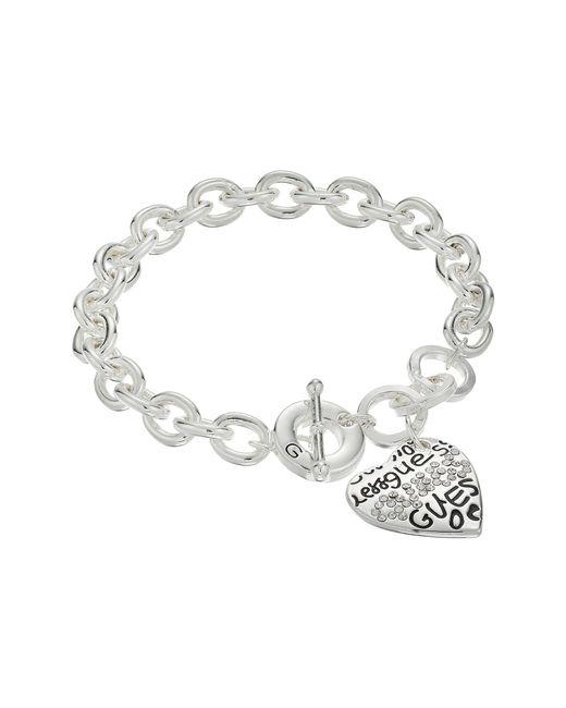 Guess - Metallic 118360-21 (silver) Bracelet - Lyst