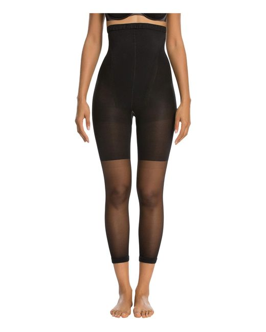 Spanx Black Original High-waisted Footless Shaper