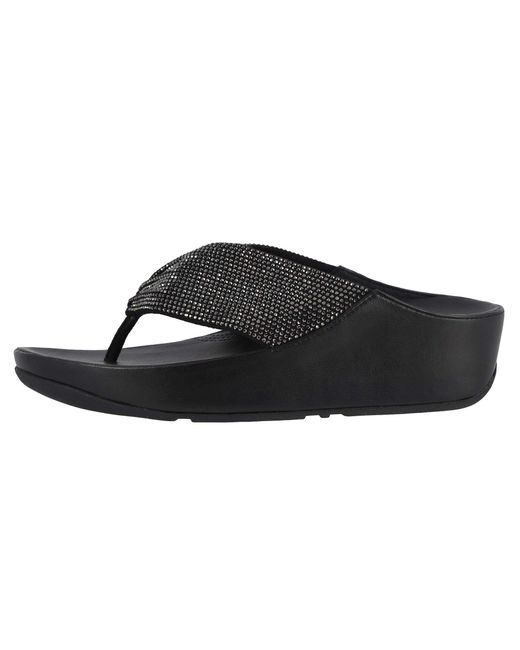 056c4594693 Lyst - Fitflop Twiss Crystal (black) Women s Shoes in Black