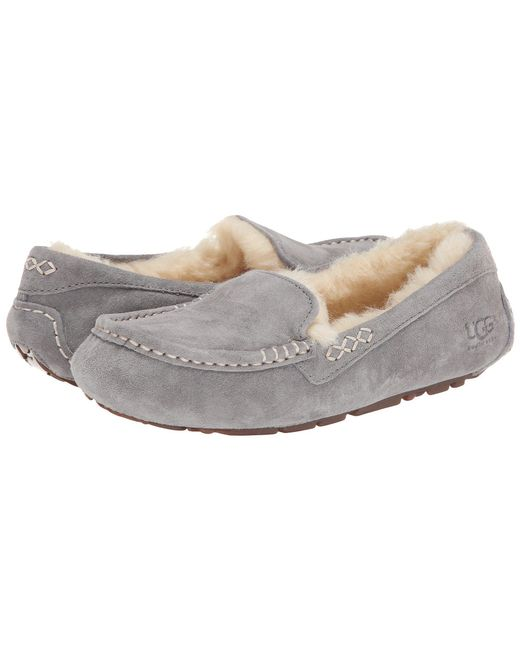 Ugg - Gray Ansley (sea Green) Women's Slippers - Lyst