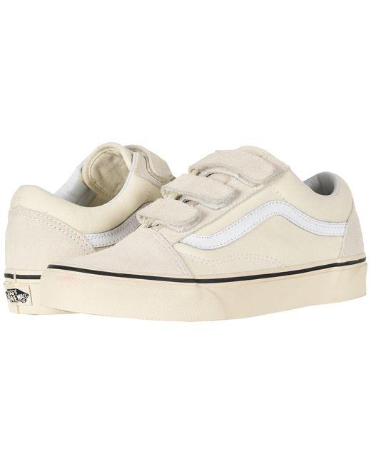 Vans Natural Old Skool V Skate Shoes