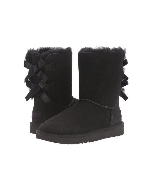 Ugg - Black Shaina Classic Knit Boots - Lyst