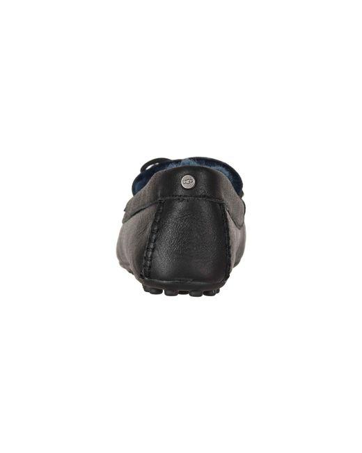 3cd15f48095 Lyst - UGG Deluxe Loafer (black) Women s Slip On Shoes in Black