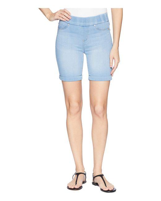 Liverpool Jeans Company - Blue Roxie Pull-on Walking Shorts In Silky Soft Denim In Delton Light (delton Light) Women's Shorts - Lyst