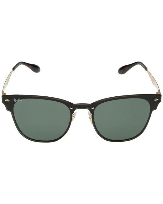 0679e87493 ... Ray-Ban - Multicolor Blaze Clubmaster Rb3576n 47mm (silver dark Green  Silver Mirror ...