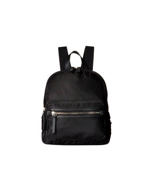 Vince Camuto - Black Patch Nylon Small Backpack (nero) Backpack Bags - Lyst