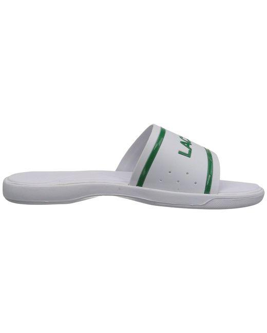 f5119c6cb ... Lacoste - Multicolor L.30 Slide 118 2 (white green) Men s Shoes ...