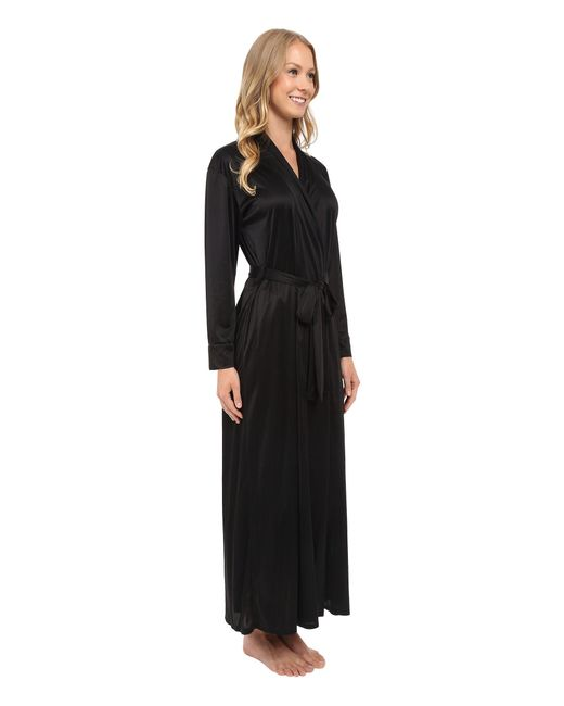 Lyst - Natori Aphrodite Robe in Black