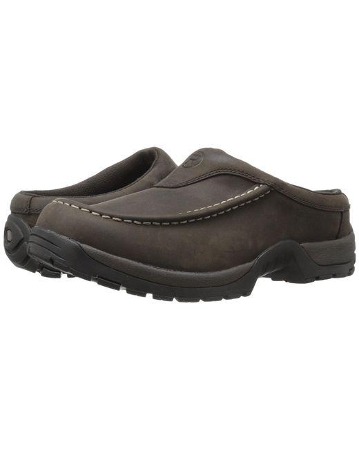 Roper - Brown Performance Moc Toe Mule (tan) Men's Slip On Shoes for Men - Lyst