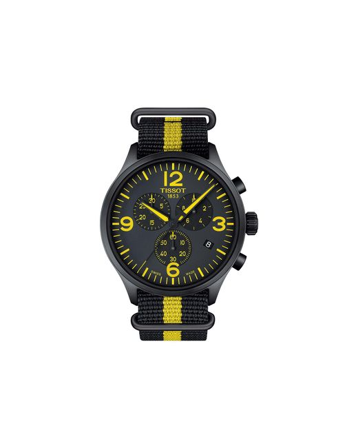Tissot - Chrono Xl Tour De France Collection - T1166173705700 (silver/yellow/black) Watches for Men - Lyst