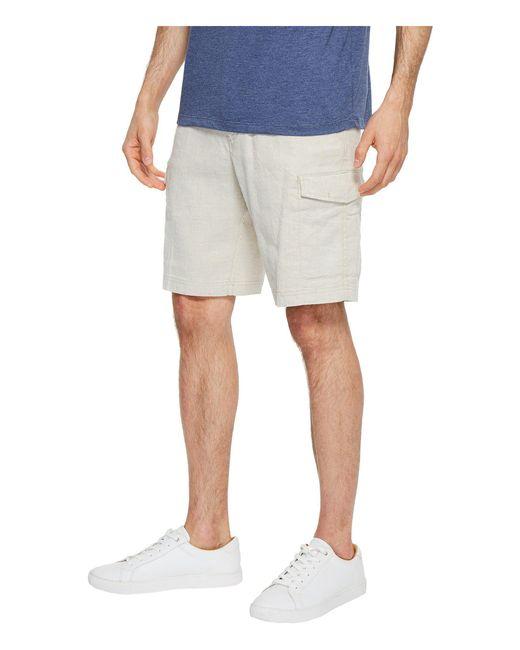 1d28ea17e7 Lyst - Tommy Bahama Beach Linen Cargo Shorts (stone Khaki) Men's ...