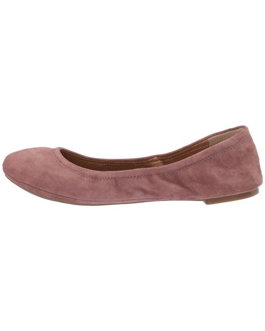 b59ec2dc77d3 Lyst - Lucky Brand Lk-emmie Ballet Flat in Purple - Save 2%