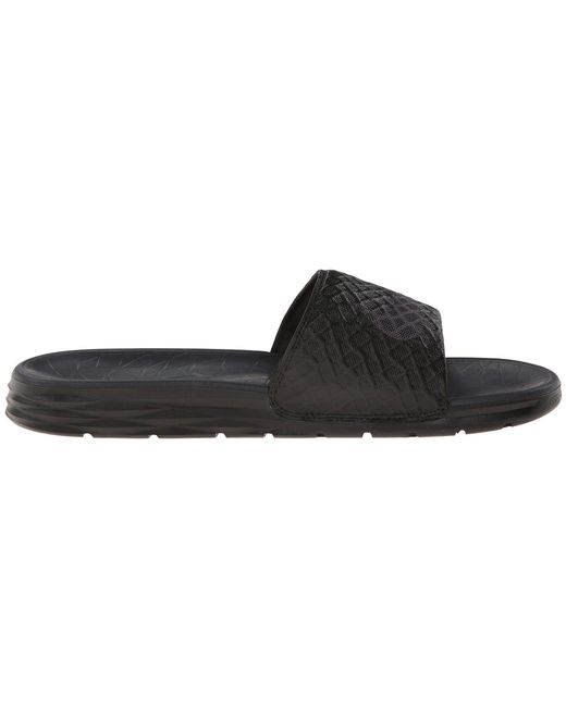 ... Nike - Black Benassi Solarsoft Slide 2 - Lyst ...