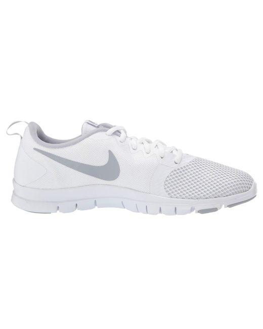 09396c27fcb ... Nike - Flex Essential Tr (gunsmoke white atmosphere Grey) Women s Cross  Training ...