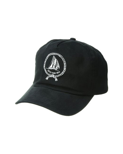 Captain Fin - Black Shipmate Hat for Men - Lyst