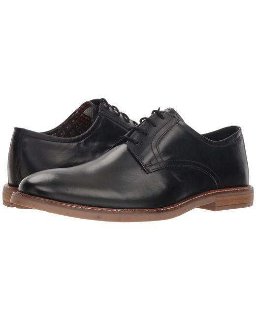 Ben Sherman - Black Birk Plain Toe (charcoal) Men's Lace Up Casual Shoes for Men - Lyst
