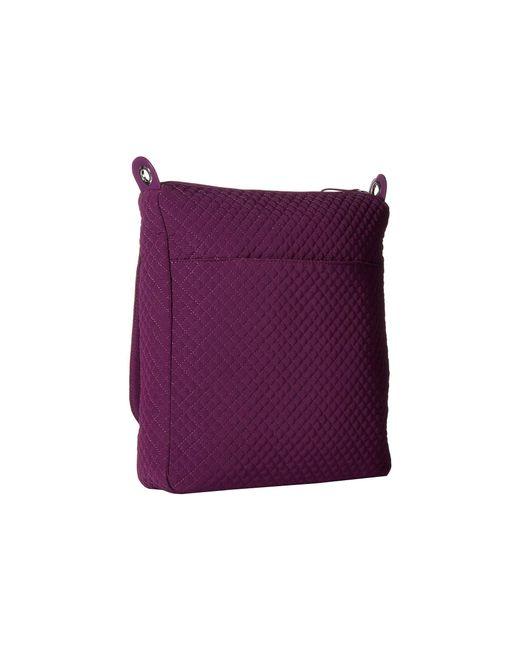 Lyst - Vera Bradley Carson Mailbag (gloxinia Purple) Bags in Purple de9ec48bf