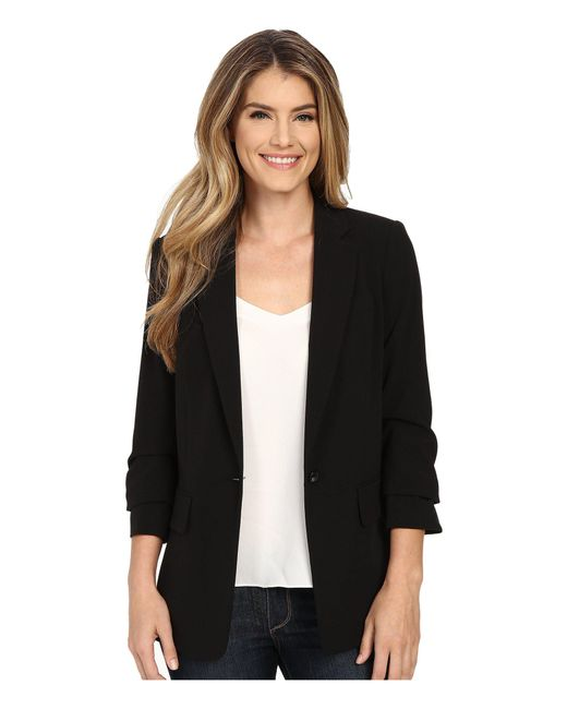 MICHAEL Michael Kors - New Boyfriend Blazer (black) Women's Jacket - Lyst